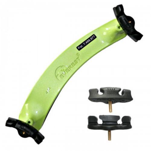 Everest COLORED Violin Shoulder Rest sizes 1/10 to 4/4